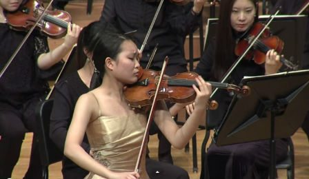 Ayana Tsuji Seoul International Violin Competition Cover
