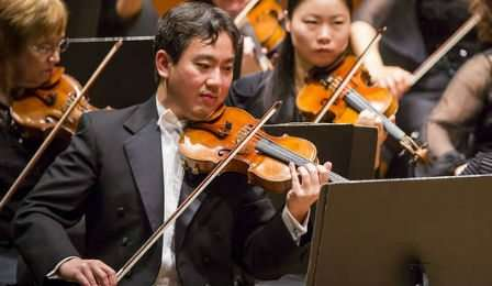 Frank Huang New York Philharmonic Concertmaster 2 Cover