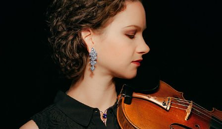 Hilary Hahn Mozart Vieuxtemps Violin Concerto CD Giveaway Cover