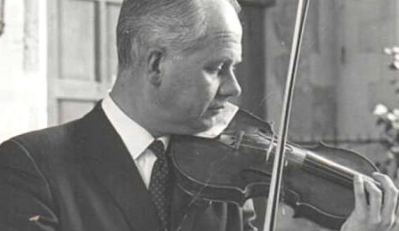 Colin Sauer Violinist Dartington Quartet Cover