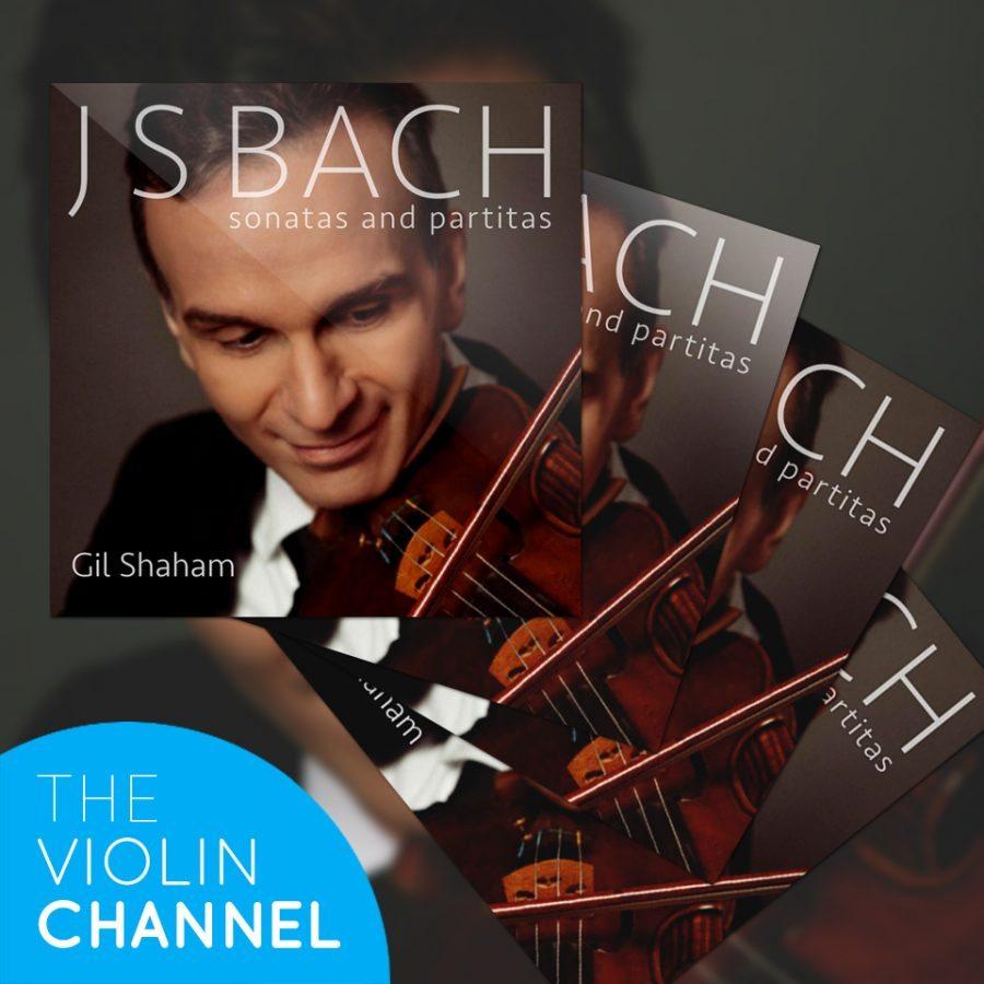Gil Shaham Bach Solo Sonatas Partitas CD Violin