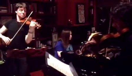 Joshua Bell Philippe Quint Sarasate Navarra Cover
