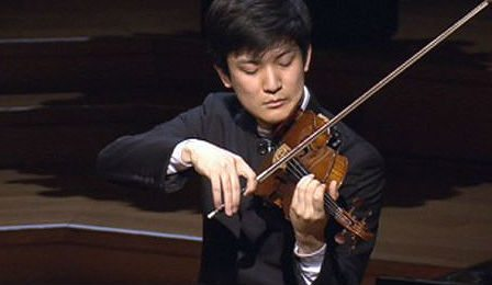 Tatsuki Narita Paganini Concerto Queen Elisabeth violin cover