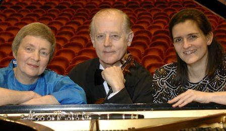 Veredehr Trio Violin Clarinet Piano Retirement Cover