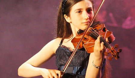 Isabella Perron Violin Klein String Competition Cover