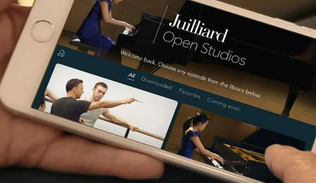 Juilliard Open Studios Iphone App Cover