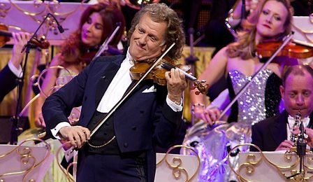 Andre Rieu Box Office Record UK Cover