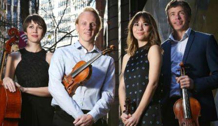 Australian String Quartet Dale Barltrop Cover