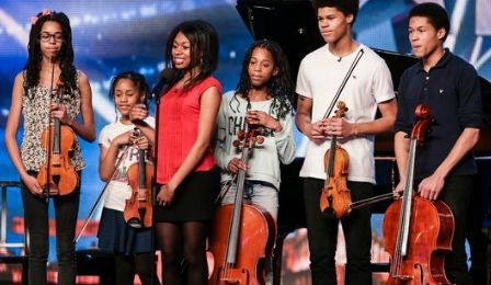 Kanneh Mason Family Orchestra Britain's Got Talent Cover
