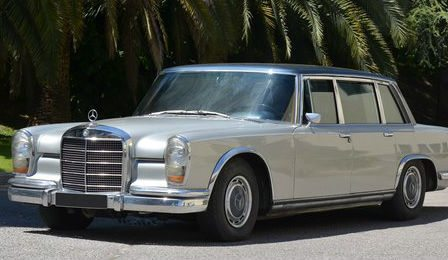 Maria Callas Mercedes Benz Limousines Acution Cover