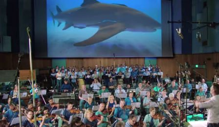 Shark Week Therodora London Symphony Joshua Bell Discovery Cover
