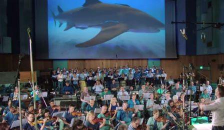 Shark Week Therodora London Symphony Joshua Bell Discovery Cover