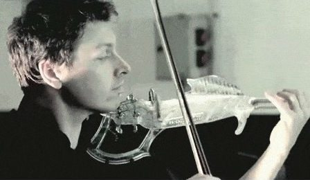 3d Printed Violin Stereolithographic Laurent Bernadac Cover