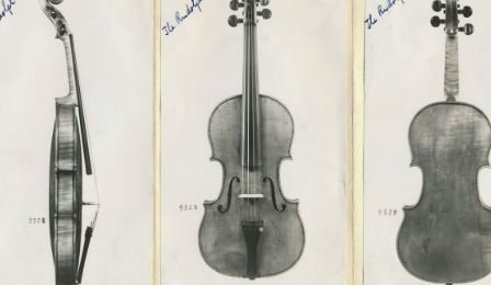Ames Totenberg Stradivarius Recovered Violin Cover