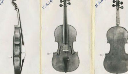 Ames Totenberg Stradivarius Recovered Violin Cover