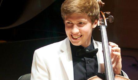 Austin Huntington Principal Cellist Indianapolis Symphony Cover