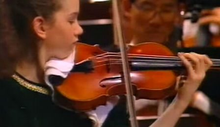 Hilary Hahn Beethoven Violin Concerto Cover