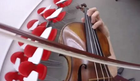 Sean Lee Paganini POV Violin Violinist Cover