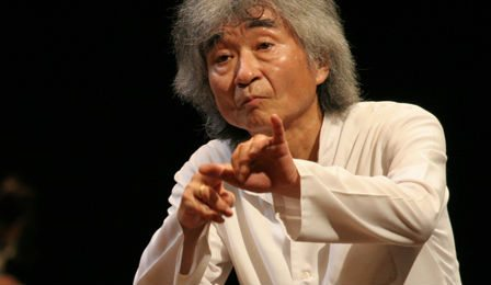 Seiji Ozawa Broken Hip Japan Festival Cancel Cover