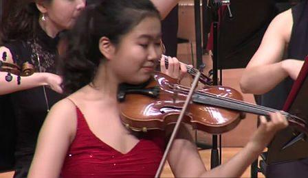 SooBeen Lee Wieniawski Concerto Cover