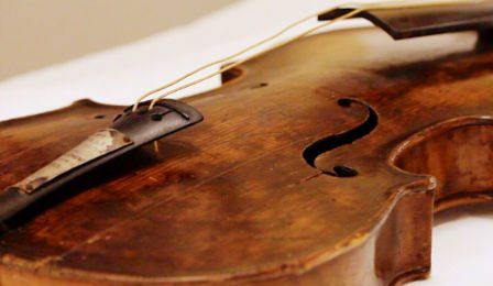 Titanic Violin Wallace Hartley Musuem Cover
