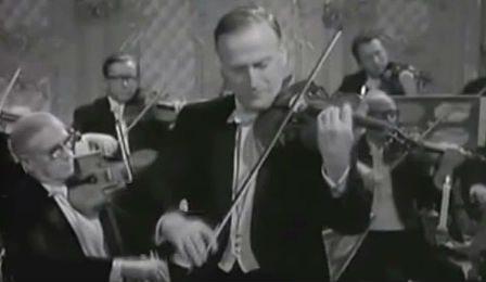 Yehudi Menuhin Karajan Mozart Violin Concerto Video Cover