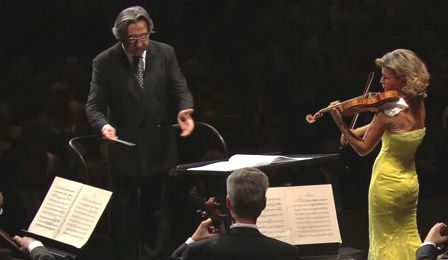 Anne-Sophie Mutter Tchaikovsky Vienna Phil Muti Cover