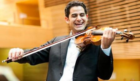 Violinist arnaud sussmann awarded paris orchestra play for Chamber l orchestre de chambre noir