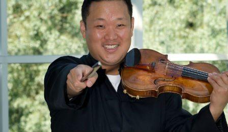 Dennis Kim Buffalo Philharmonic Concertmaster Cover