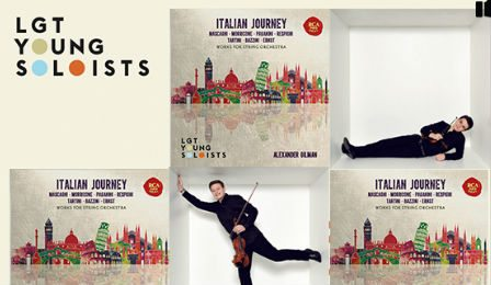 LGT Young Soloists Italian Journey Cover