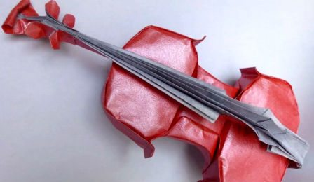 Origami Violin How to Make Cover