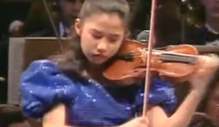 Sarah Chang Paganini Violin Concerto 11 Years Cover