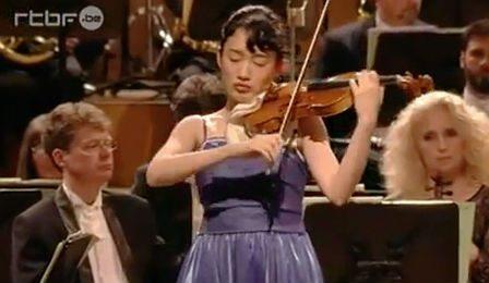 Fumika Mohri Sibelius Violin Concerto Queen Elisabeth Cover