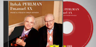 Itzhak Perlman Emanuel Ax Strauss Faure Sonatas Violin Cover