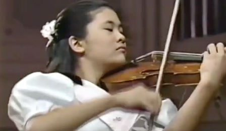 Jennifer Koh Paganini 11 Years Old Chicago Cover