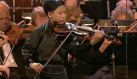 Kerson Leong Menuhin Competition Sarasate Cover