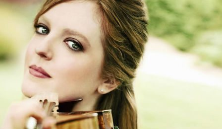Rachel Barton Pine Ackwright Lady Sylvan Stradivarius Cover