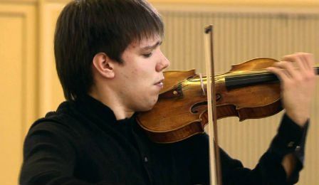 Sergei Dogadin Paganini Tchaikovsky Violin Competition 2011 Cover