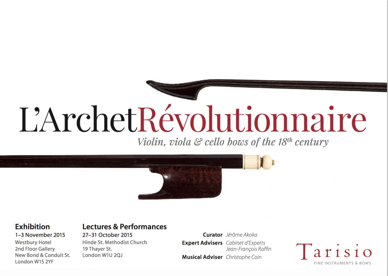 Tarisio Auctions Bow Exhibition London