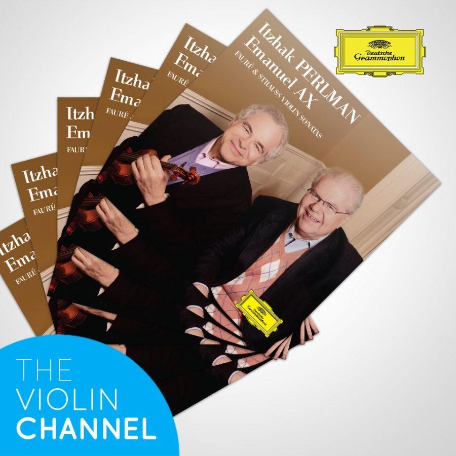 Itzhak Perlman Emanuel Ax Faure Strauss Violin Sonata CD