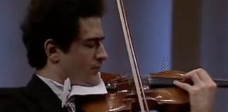 Ilya Kaler Sibelius Violin Concerto Cover
