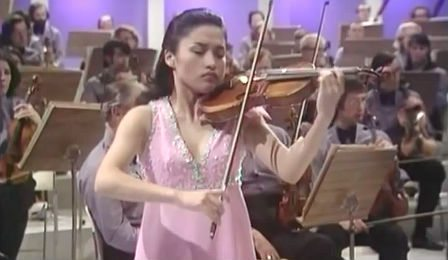 Kyung Wha Chung Bruch 1974 Violin Concerto Cover