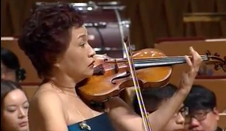 Kyung Wha Chung Bruch Violin Concerto Cover