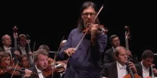 Leonidas Kavakos Beethoven Violin Concerto Cover