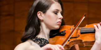 Lily Higson Spence Violin Young Performer Cover