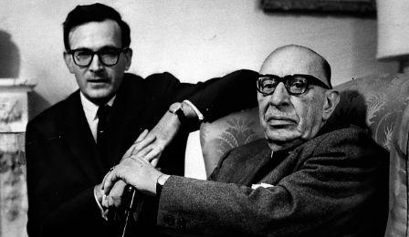 Robert Craft and Stravinsky