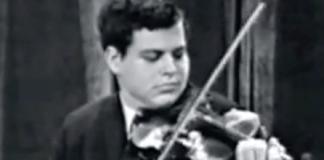Itzhak Perlman Wieniawski Violin Concerto 1964 Ed Sullivan
