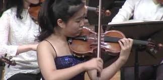 SooBeen Lee Sibelius Violin Concerto Cover
