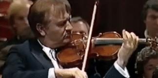 Valery Klimov Khachaturian Violin Concerto Cover