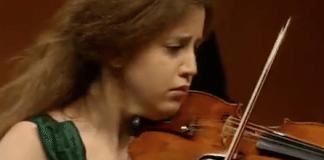 Vilde Frang Korngold Violin Concerto Cover